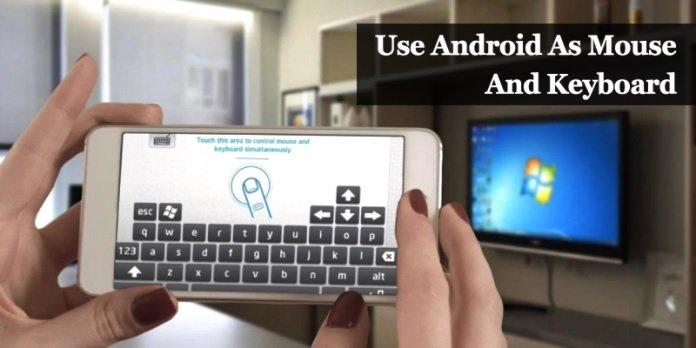 با این تکنیک گوشی اندرویدی خود را به ماوس و صفحهکلید تبدیل کنید