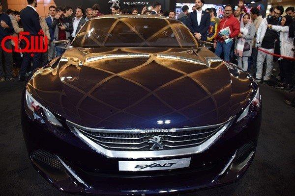 رونمایی پژو اکزالت ؛ سوپرایز ویژه غرفه پژو در نمایشگاه خودرو تهران