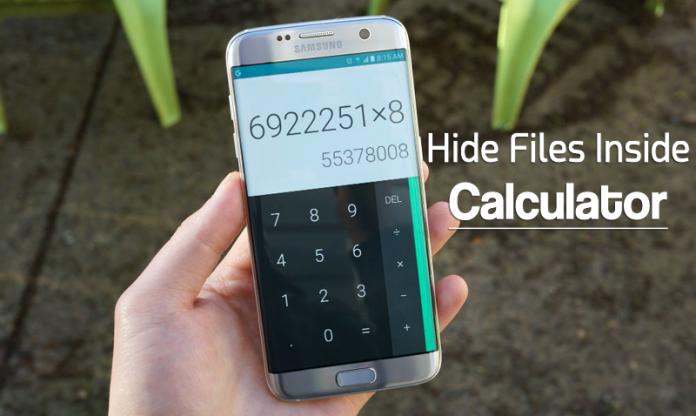 اپ ماشین حساب اندروید را تبدیل بهمخفیگاه فایلها و پوشههای مهم کنید