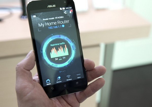 دسترسی به تنظیمات روتر از طریق تلفن همراه