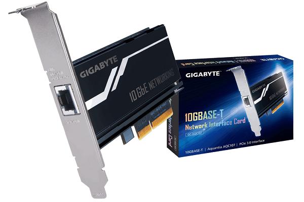 معرفی کارت شبکه 10 گیگابیتی PCIe شرکت گیگابایت