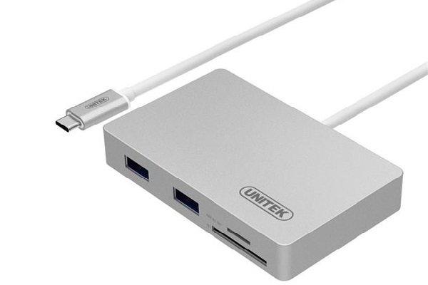 نگاهی به هاب یونیتک USB 3.0 Type-C