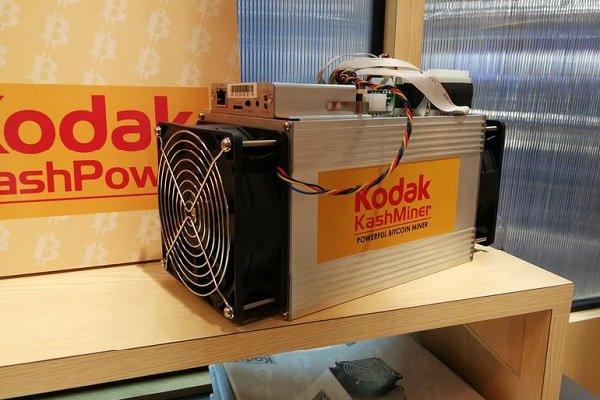 کداک دستگاه استخراج ارز دیجیتال ساخت