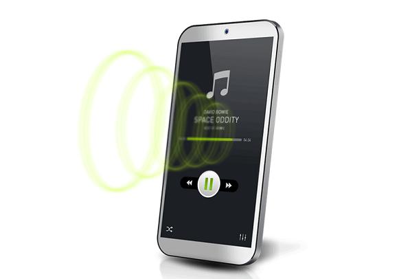 پخش صدا از طریق نمایشگر تلفن همراه