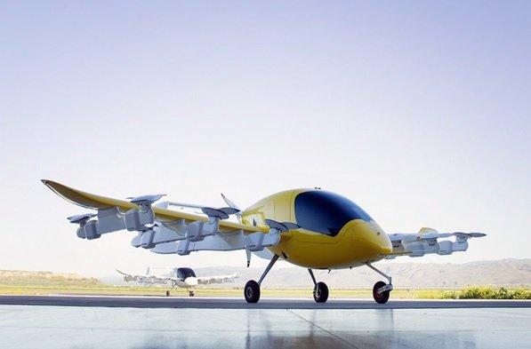 تاکسیهای پرنده لری پیچ بنیانگذار گوگل در آسمان نیوزلند به پرواز درآمدند