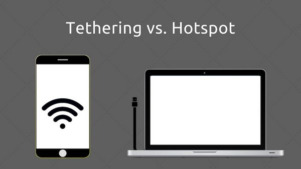 چه تفاوتی بین تترینگ و هاتاسپات وجود دارد؟