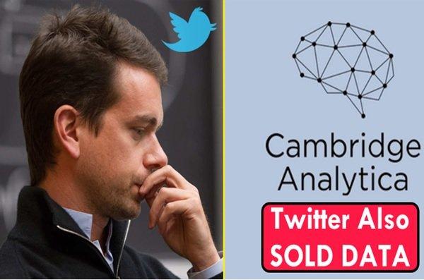 توییتر هم اطلاعت کاربران خود را در اختیار کمبریج آنالیتیکا قرار داده است