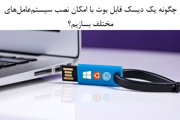 چگونه چندین فایل ISO را روی یک دیسک USB قابل بوت قرار دهیم؟
