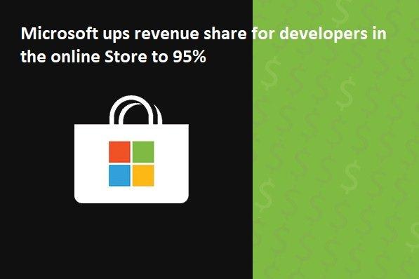 مایکروسافت میگوید تا 95 درصد سود فروش برنامهها را به توسعهدهندگان میدهد