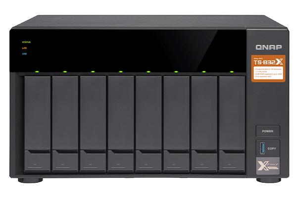 دستگاه NAS جدید کیونپ با درگاههای10 گیگابیتی و اسلاتهای PCIe