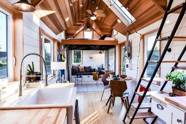 گالری عکس: طراحیهای داخلی فوقالعاده زیبا در خانههای کوچک رویایی