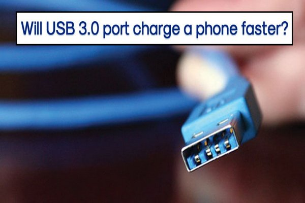 آيا گوشيها در زمان اتصال به درگاه USB 3.0 سريعتر شارژ ميشوند؟