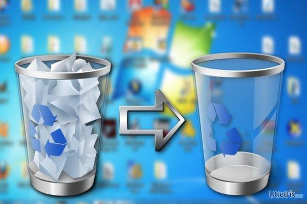 چگونه تنظیمات سطل زباله ویندوز را تغییر دهيم