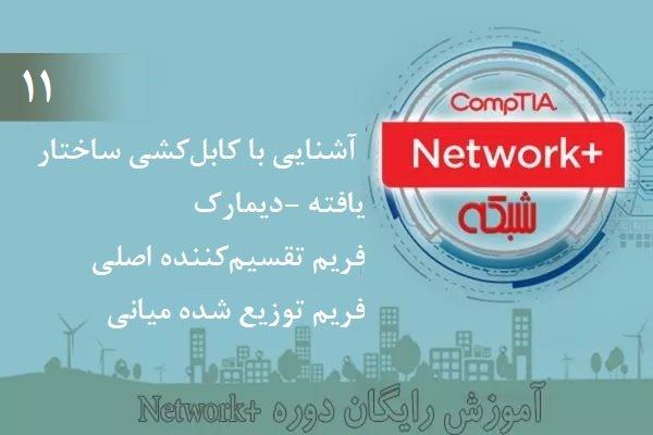آموزش رایگان دوره نتورکپلاس (+Network) – آشنایی با کابلکشی ساختار یافته (بخش 11)