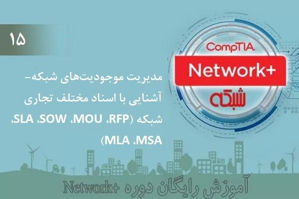 آموزش رایگان دوره نتورکپلاس (+Network) مدیریت موجودیتهای شبکه- آشنایی با اسناد تجاری شبکه (بخش 15 )