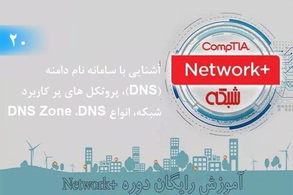 آموزش رایگان دوره نتورکپلاس (+Network) آشنایی با سامانه نام دامنه (بخش 20 )