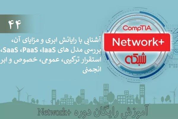 آموزش رایگان دوره نتورکپلاس (+Network) ابر خصوصی، ترکیبی، عمومی، IaaS، PaaS، XaaS (بخش 44 )