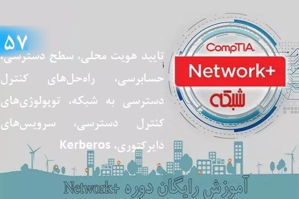 آموزش رایگان دوره نتورکپلاس (+Network) (بخش 57)