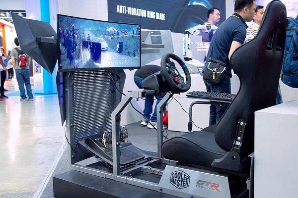 همکاری کولرمستر و GTR Simulator برای ساخت کابین شبیه ساز رانندگی