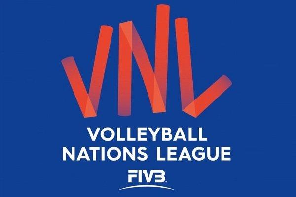برنامه و زمان بازی های والیبال ایران در مرحله نهایی لیگ ملت های والیبال 2019