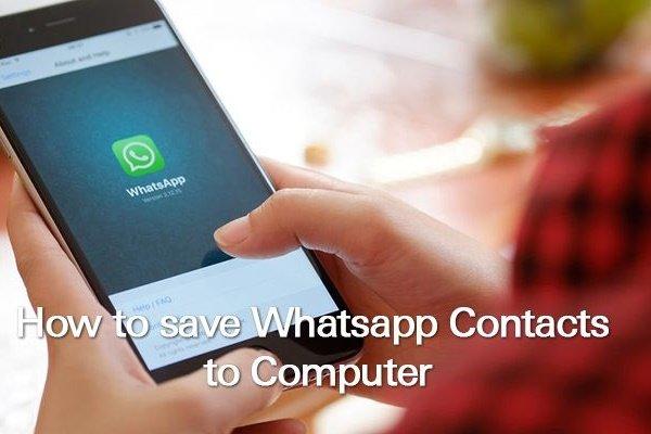 چگونه لیست مخاطبان واتساپ را روی کامپیوتر یا کلاود ذخیره کنید