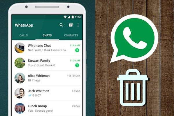 چگونه یک مخاطب را از لیست مخاطبان واتساپ پاک کنیم