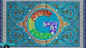 طرح اسلیمی ایرانی/اسلامی که برنده مسابقه اینستاگرامی گوگل شد