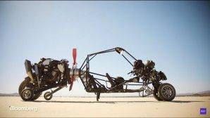 ژیروکوپتر، اولین ماشین پرنده  به پرواز درآمد