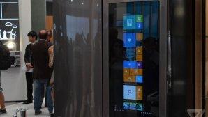 یخچال هوشمند الجی میزبان سیستمعامل ویندوز 10 شد!