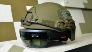 ارتش اوکراین کلاه نظامی مجهز به هولولنز مایکروسافت ساخت!