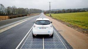 نصب اولین خیابان خورشیدی دنیا در فرانسه
