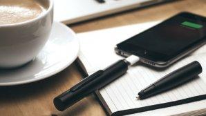 با این خودکار زیبا گوشیتان را شارژ کنید