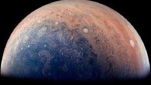 ناسا تصویری از قطب جنوب مشتری منتشر کرد