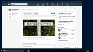 مایکروسافت به طور رایگان برنامه ویندوز 10 لینکدین را منتشر کرد