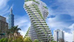 تماشا کنید: برج چرخانی که دی اکسید کربن میخورد