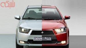 مقایسه خودروی دنا با دنا پلاس