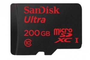 SanDisk کارت حافظه دویست گیگابایتی رو کرد