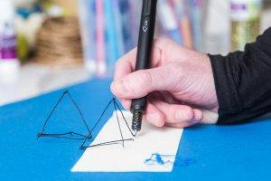 با کوچکترین قلم چاپ سه بعدی دنیا در هوا نقاشی کنید
