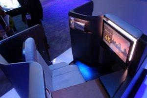 پاناسونیک صندلی هواپیمایی مجهز به آخرین فناوریهای روز دنیا ساخت