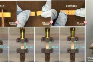 ماده الکتریکی که پس از شکستگی خودش را ترمیم میکند