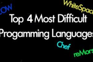 با 4 زبان کاملا عجیب دنیای برنامهنویسی آشنا شوید