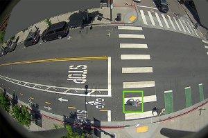 تیرهای چراغبرقی که دوچرخهسواران را شناسایی میکنند
