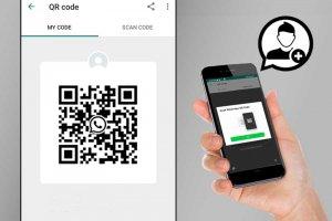 چگونه در واتساپ از طریق QR Code مخاطب جدید اضافه کنیم؟