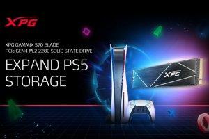 با اس اس دی XPG S70 حافظه PS5 خود را ارتقا دهید