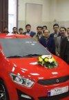 پلتفرم خودروی ملی ایران معرفی شد