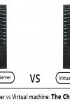چه تفاوتی بین ماشین مجازی و سرور وجود دارد؟