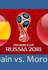 تاریخ و ساعت بازی اسپانیا و مراکش در جام جهانی فوتبال 2018 روسیه