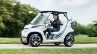 گالری عکس: خودروی فوق پیشرفته گلفبازی شرکت بنز