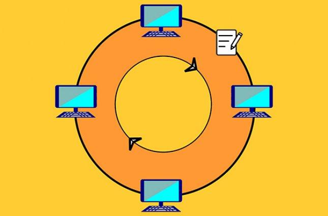 شبکه توکنرینگ (Token-ring) چیست و چگونه کار میکند؟