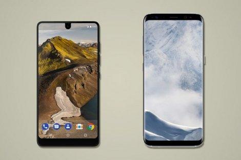 چرا گلکسی اس 8 از اسنشال فون بهتر است؟ + عکس